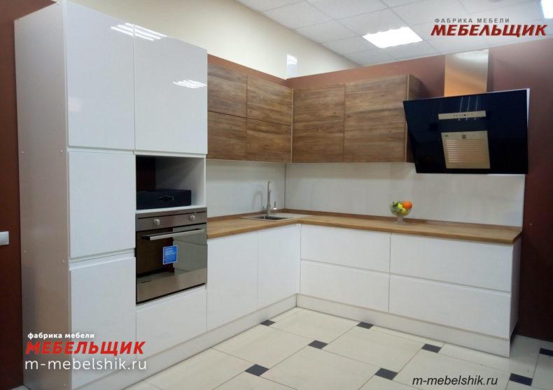 Кухня м1 эмаль фасады