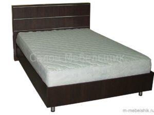 Кровать с рейлингом