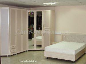 """Спальный гарнитур с угловым шкафом """"Хозяин"""""""