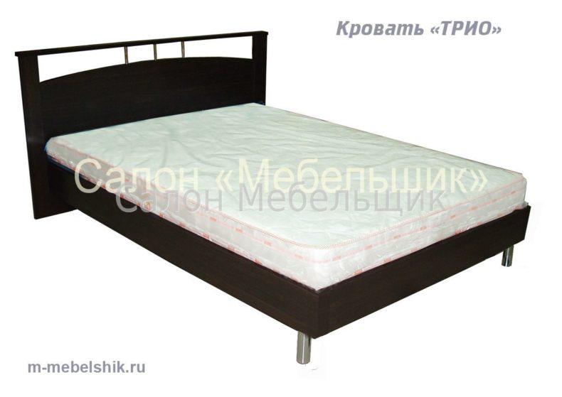 """Кровать""""ТРИО"""" овал"""