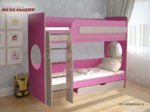 Детская 3 двухъярусная кровать