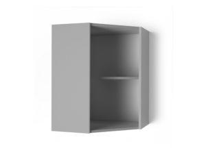 Шкаф навесной угловой 550х550