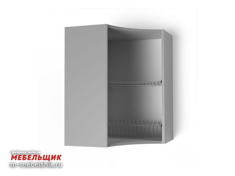 Шкаф навесной угловой 550х550 радиусный