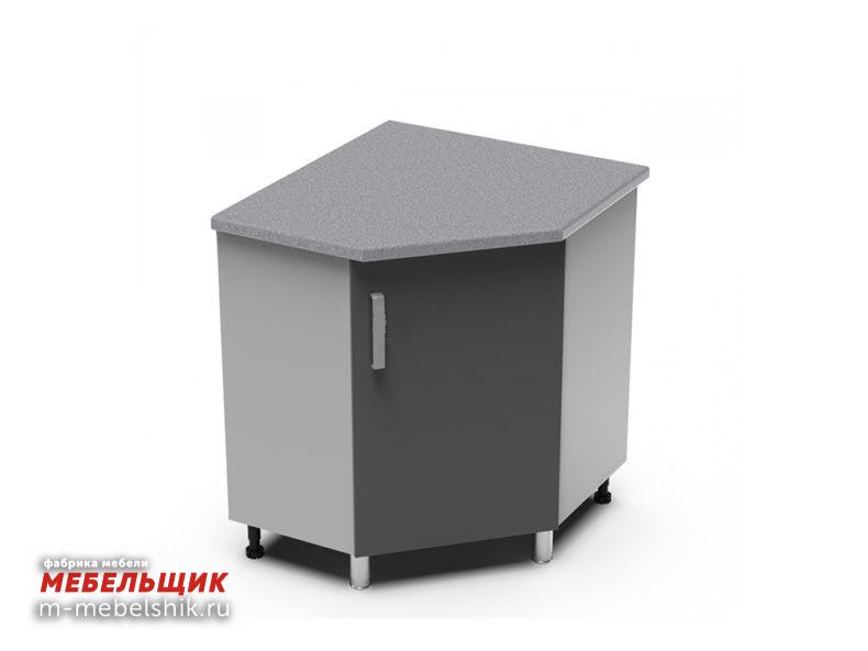 Угловой рабочий стол 850х850 угол скос