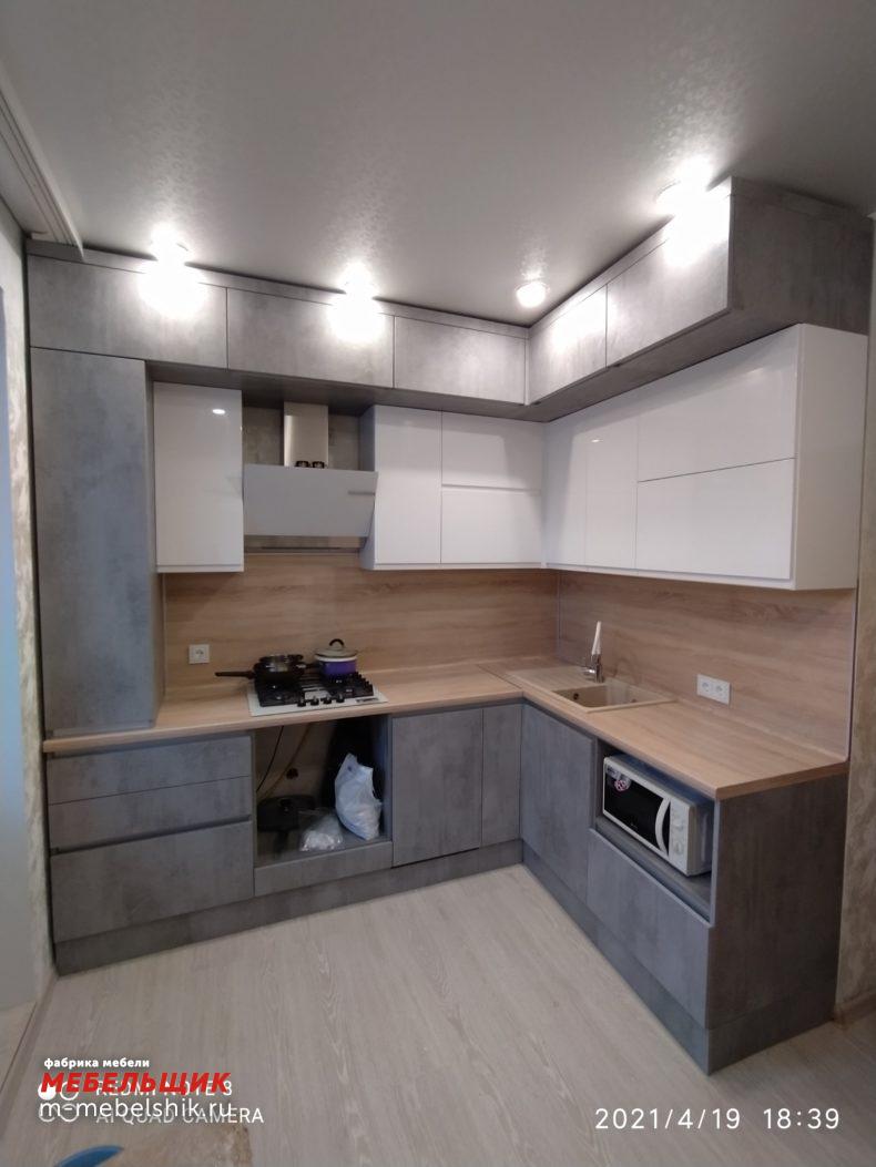 Кухонный гарнитур Cleaf + эмаль 15