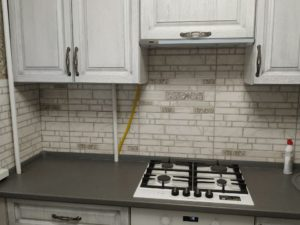 Кухонный гарнитур из массива 20